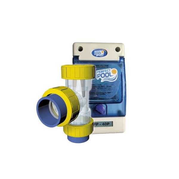 Ionizador inline para piscinas de hasta 90 m3 perfect pool for Ionizador piscina