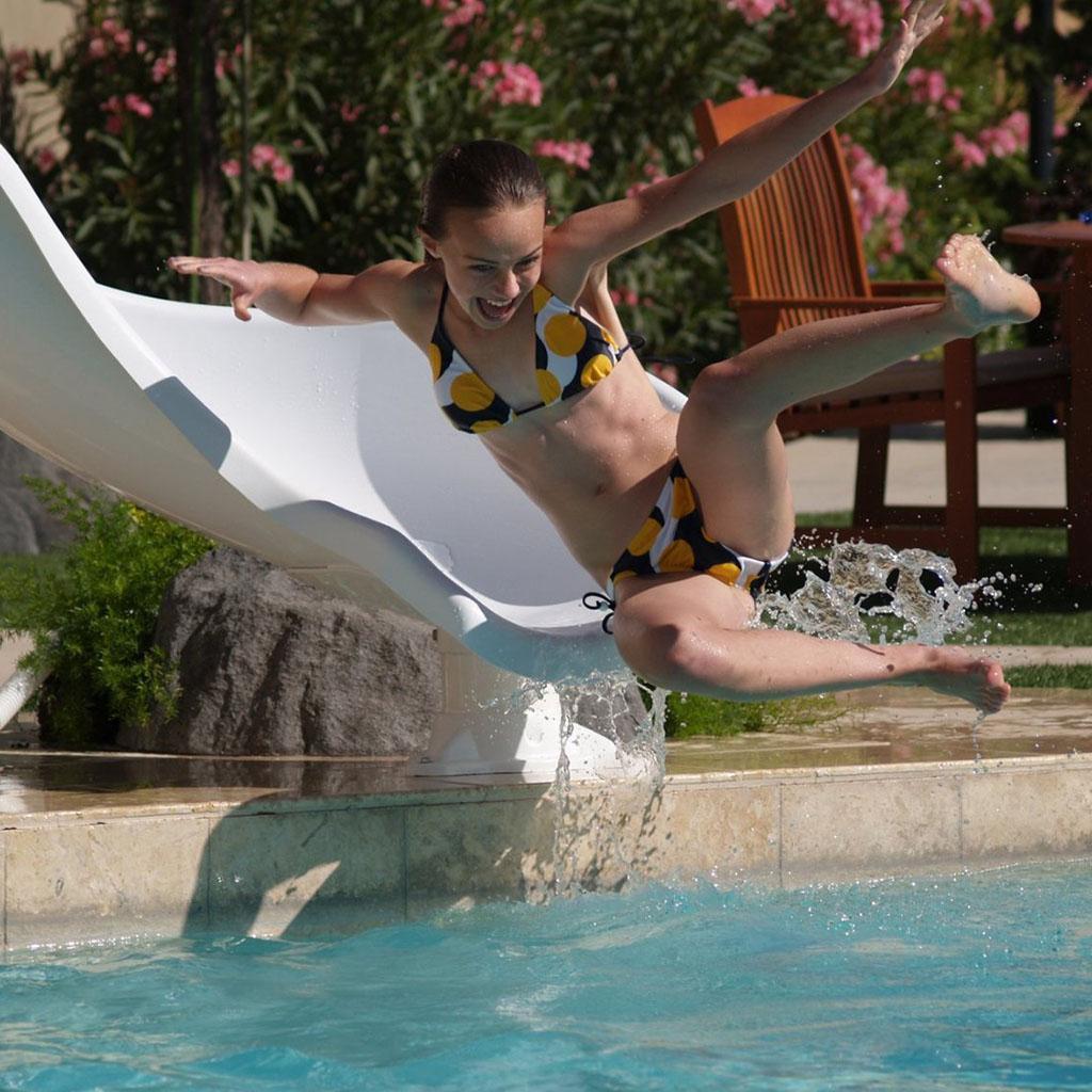 Tobog n para piscinas zoomerang perfect pool for Tobogan piscina