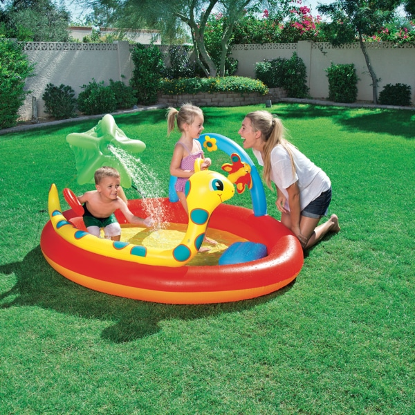 Piscina inflable bestway centro de juegos perfect pool for Piscina inflable bestway