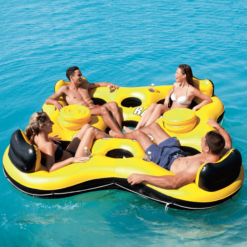 Flotador de Isla Bestway Rapid Rider Island 4 Personas