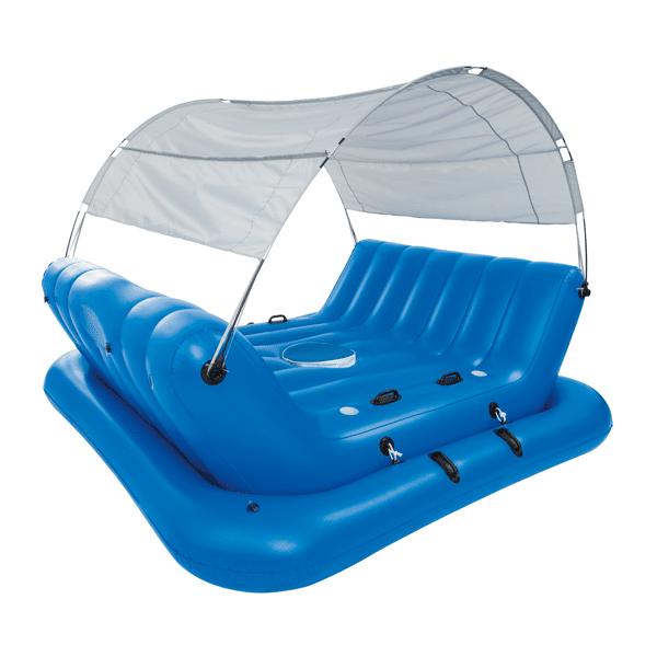 Flotador bestway isla rock n shade perfect pool for Piscinas carrefour 2017