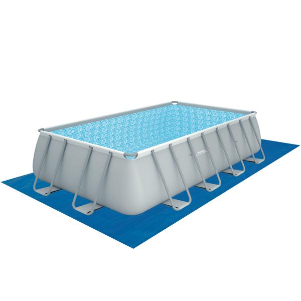 Piscina estructural bestway power steel rectangular 13177l for Piscina desmontable rectangular bestway