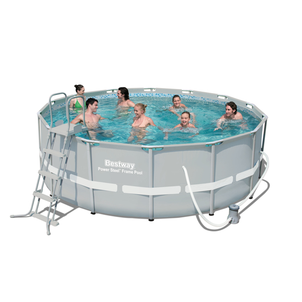 Piscina estructural bestway power steel lts perfect pool - Cubre piscinas bestway ...
